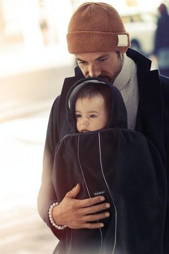 כיסוי חורף למנשא בייבי ביורן - שומר על הילד חם ויבש