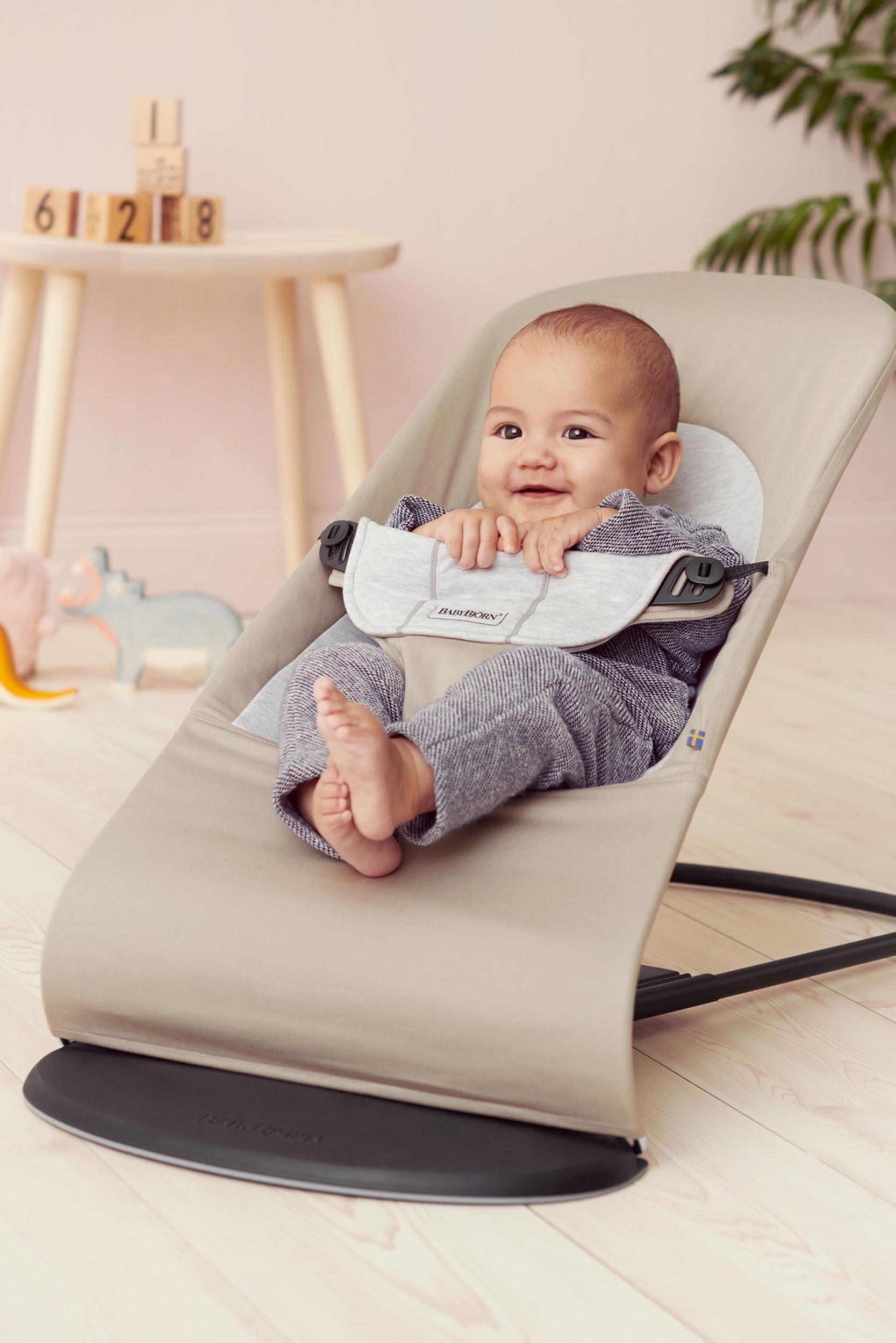 טרמפולינה בייבי ביורן סופט כותנה - מתאימה לשימוש מגיל לידה