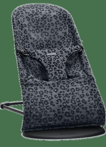 טרמפולינה בליס בייבי ביורן – קולקציית Classic Leopard צבע הטרמפולינה: אבן פחם - אייר מש