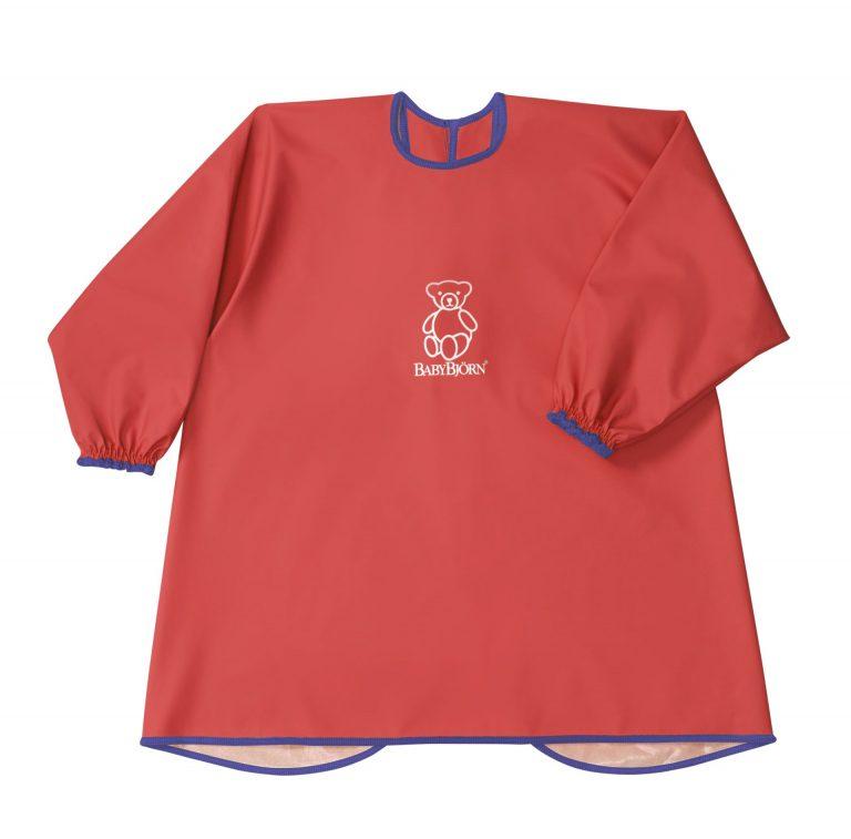 סינר חולצה בייבי ביורן צבע הסינר: אדום
