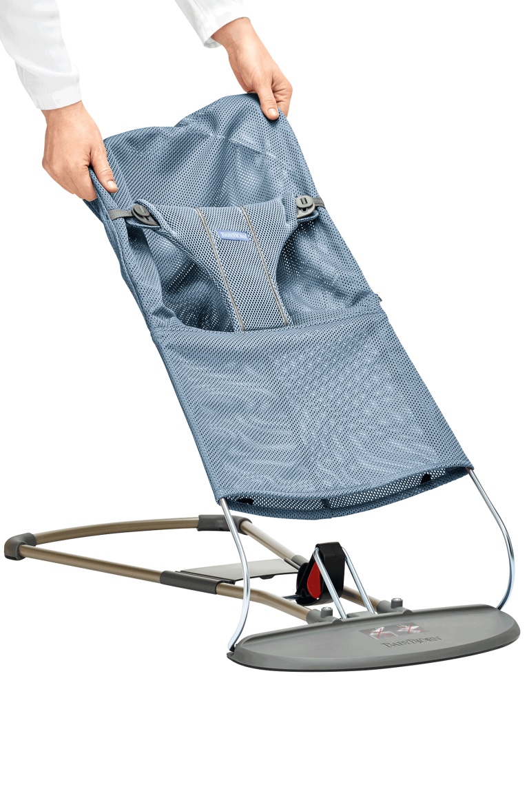 בד לטרמפולינה בייבי ביורן צבע בד מושב: כחול סלייט - אייר מש