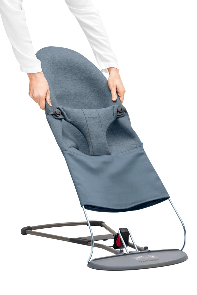 בד לטרמפולינה בייבי ביורן צבע בד מושב: כחול DOVE ג'רסי