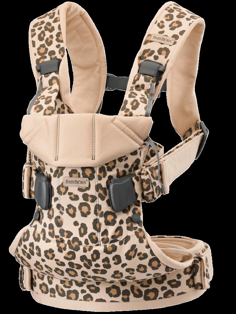 מנשא בייבי ביורן ONE – קולקציית Classic Leopard
