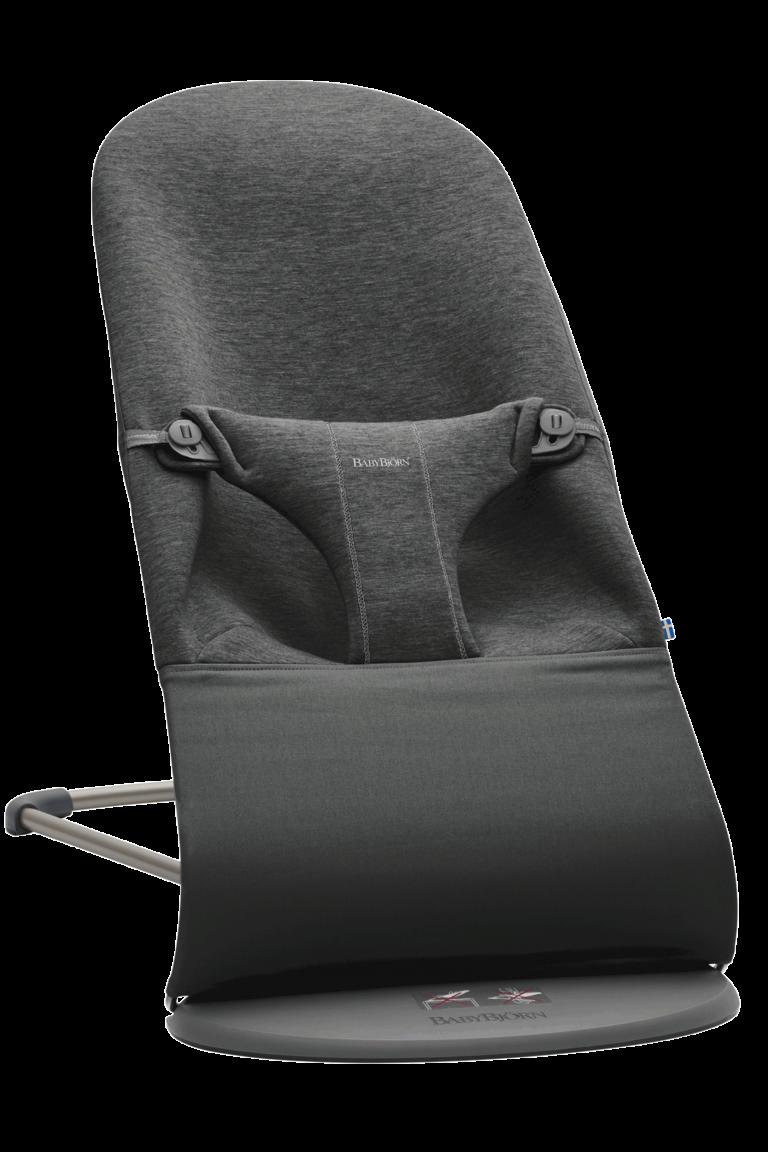 בד לטרמפולינה בייבי ביורן צבע בד מושב: אפור פחם ג'רסי