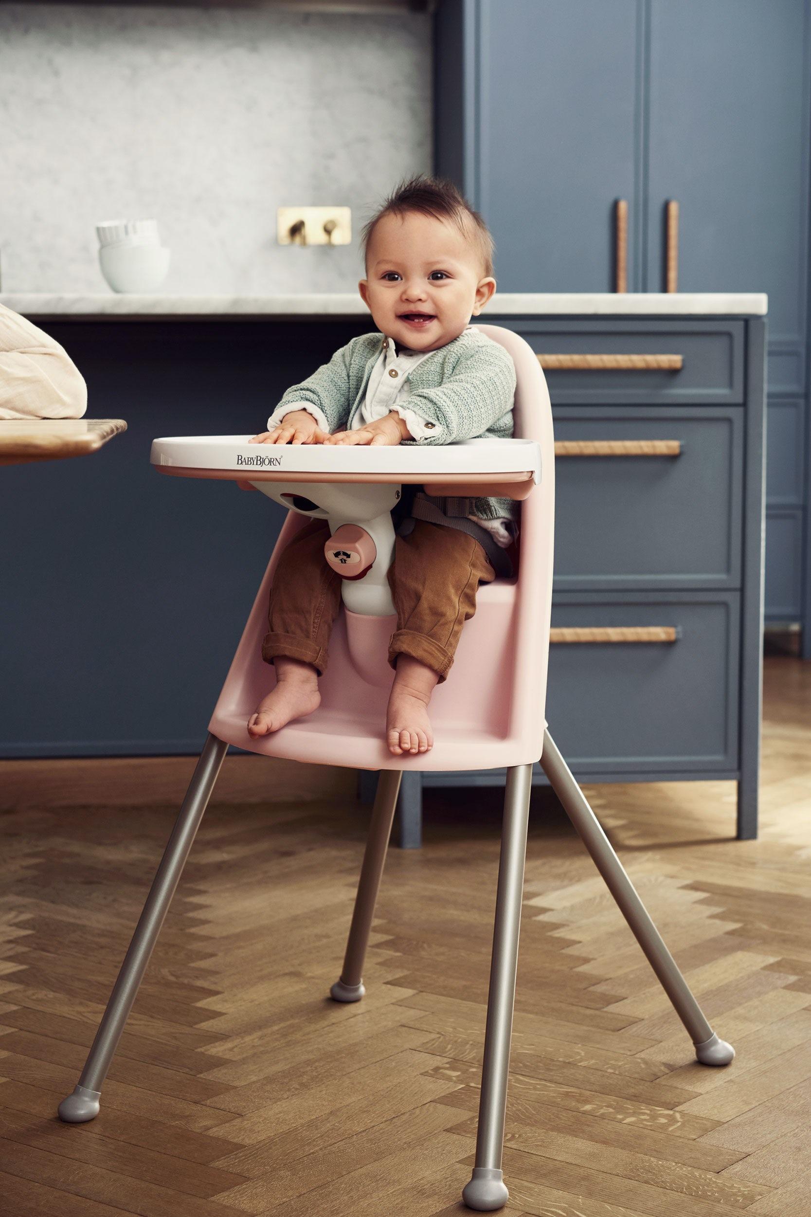 כיסא אוכל גבוה - בייבי ביורן - הכיסא גבוה. גם הבטיחות